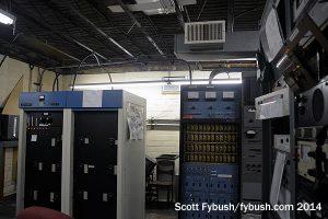 WAKR's main transmitter