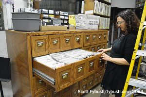 Library of 45s