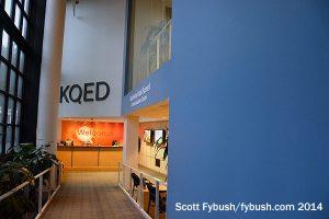 KQED's lobby