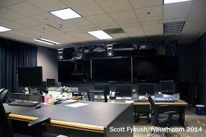 New TV control room...