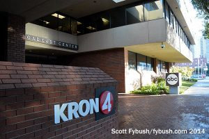 KRON in the KGO building