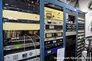 WLOI/WCOE rack room