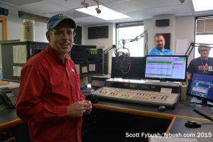 The WLDE 101.7 studio