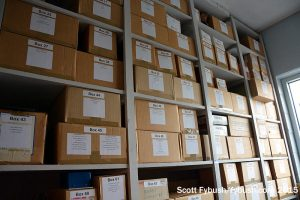 WTOL storage room