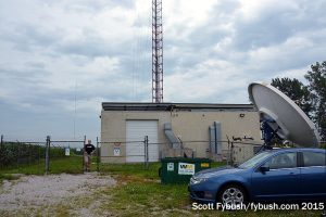 WUPW's transmitter building