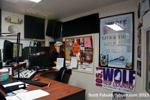 The WOLF-FM studio