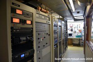 WRAY transmitter room