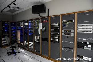 Radio rack room