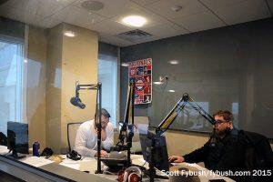 WJFK talk studio