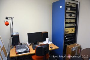 Sports studio at WDNY