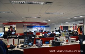 English newsroom