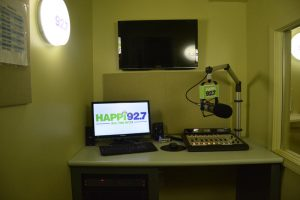 Happi production booth