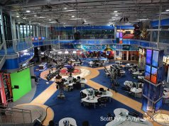 WFXT's newsroom/studio