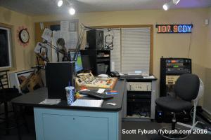WCDY air studio