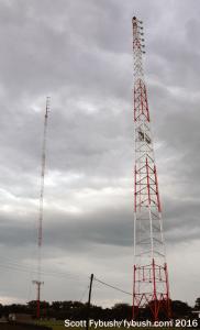 WKCQ-WSAM towers