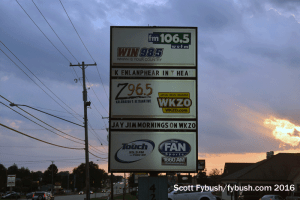 WKZO sign