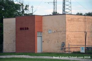 WKZO's transmitter building