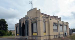 WJR's transmitter building