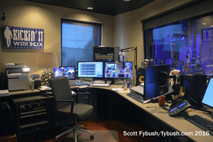 Kix Brooks control room