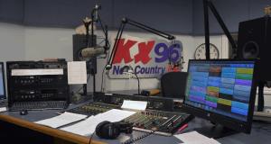 KX96 studio