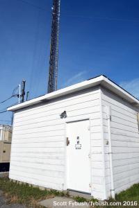 CKGE transmitter building