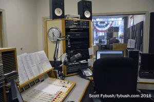 WHLM's back studio