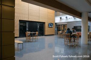 WPSU's atrium