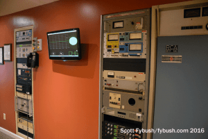 Original WVNO transmitter