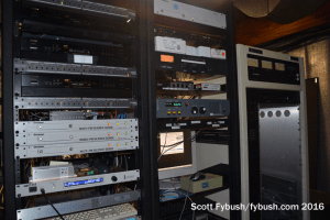 Rack room at Lafayette TV