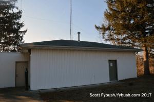 WHLS transmitter building