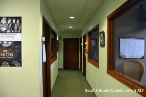 Salem studio hallway