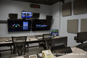 Secondary control room