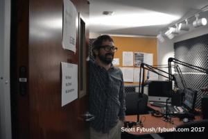 Patrick in his studio