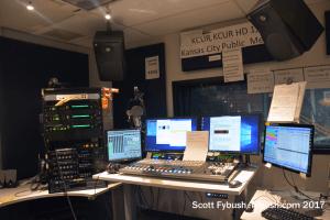 KCUR control room