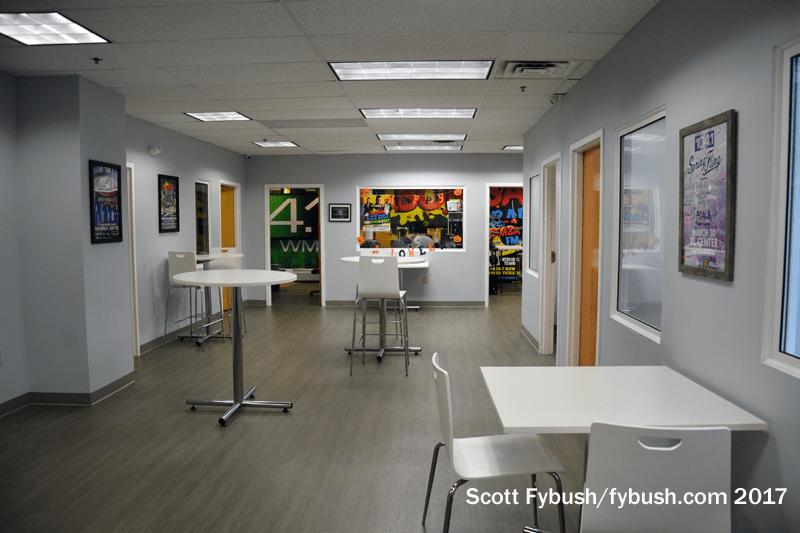 Performance studio lobby
