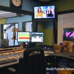 Elvis Duran control room