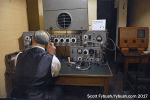 BBC gear at the War Rooms