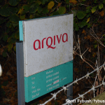Arqiva sign at Oxford