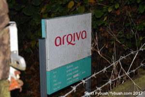 Arqiva sign at Oxford
