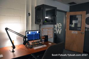 WECW's studio
