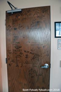 WLKK's door