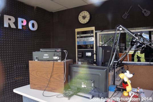 WRPO's studio