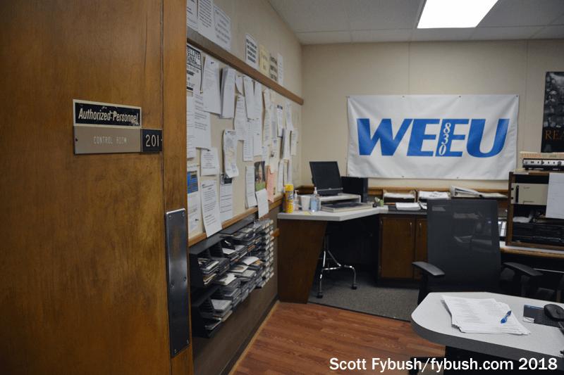 WEEU's studio building
