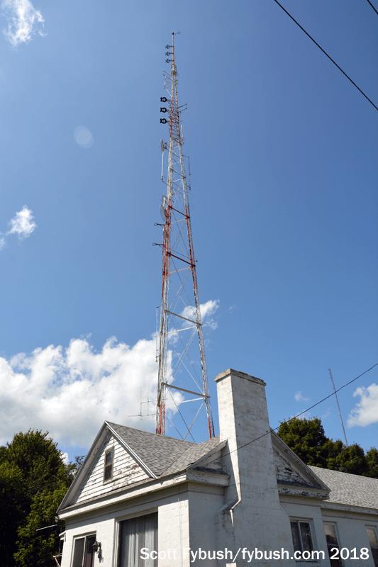 WKTV studios, WUTR tower