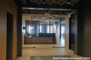 Hubbard lobby, 2018
