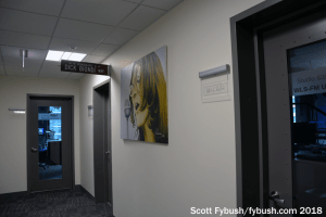 WLS studio hallway