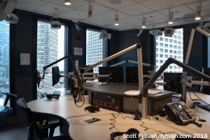 WLS AM talk studio