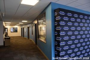 WPHT's studio hallway (ex-KYW)