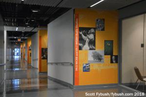 WGBH radio studio hallway