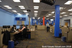 WHAM-TV newsroom
